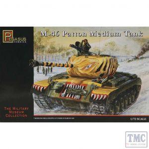 PKPG7506 Pegasus 1:72 Scale M46 Patton Medium Tank