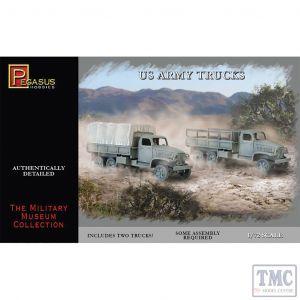 PKPG7651 Pegasus 1:72 Scale US Army Trucks (2 per box)