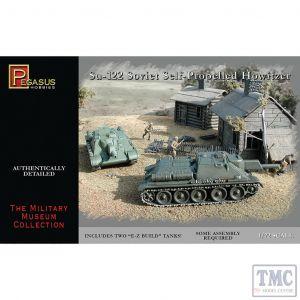 PKPG7664 Pegasus 1:72 Scale Su-122 (2 per box)