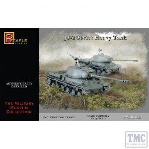 PKPG7669 Pegasus 1:72 Scale IS-2 Tank (2 per box)