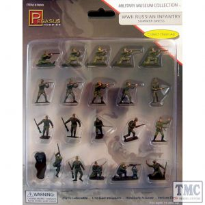 PKPG7850 Pegasus 1:72 Scale WWII Russian Infantry Summer Dress