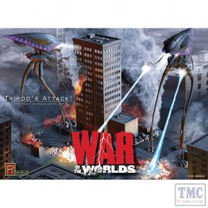 PKPG9006 Pegasus 1:350 Scale 2005 War of the Worlds Tripod's Attack