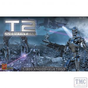 PKPG9017 Pegasus 1:32 Scale T2 T-800 Endoskeletons (kit)