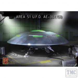PKPG9100 Pegasus 1:72 Scale Area 51 UFO File # AE-341.15B
