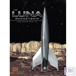 PKPG9110 Pegasus 1:350 Scale The Luna Rocketship