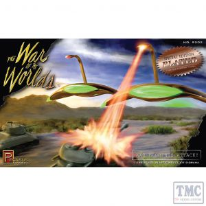 PKPG9202 Pegasus 1:144 Scale War of the Worlds War Machines Attack! (plated kit)