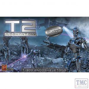 PKPG9217 Pegasus 1:32 Scale Chrome Plated T2 T-800 Endoskeletons (kit)