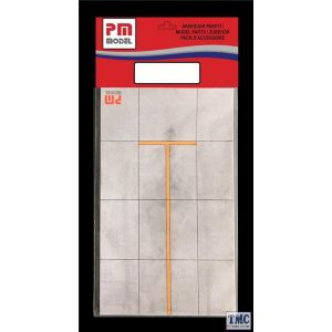 PKPM902 PM 1:72 Scale PM Small Airfield Card 120 x 200 x 0.75mm 1:72 scale