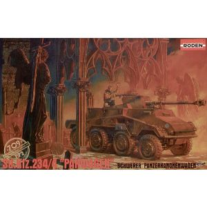 PKROD709 Roden 1:72 Scale SdKfz 234/4 (Pre Owned)