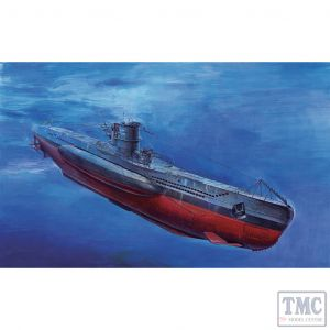 PKSE73502 AFV Club 1:350 Scale U-Boat Type VII/B