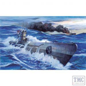 PKSE73503 AFV Club 1:350 Scale U-Boat Type VII/C