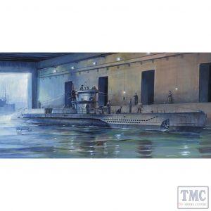 PKSE73505 AFV Club 1:350 Scale U-Boat Type VII/D