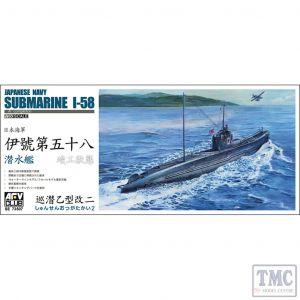 PKSE73507 AFV Club 1:350 Scale I-58 Japanese Navy Submarine