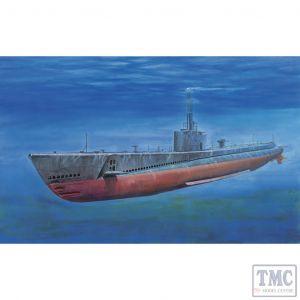 PKSE73509 AFV Club 1:350 Scale USS Gato Class Submarine 1941