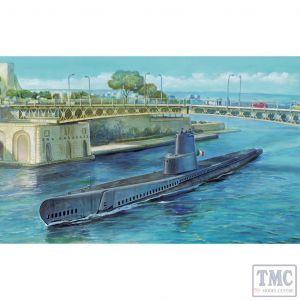 PKSE73512 AFV Club 1:350 Scale Guppy Class USN Submarine IB
