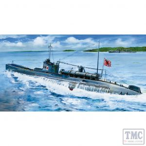 PKSE73514 AFV Club 1:350 Scale I-27 Japanese Navy Midget Submarine w/ A-Target