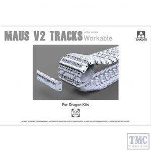 PKTAK02094 Takom 1:35 Scale Maus V2 Workable Tracks w/ sprockets