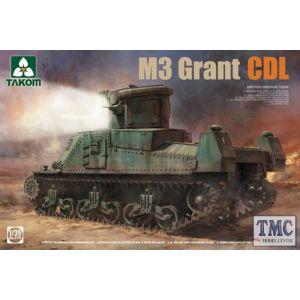 PKTAK02116 Takom 1:35 Scale M3 Grant CDL British Medium Tank