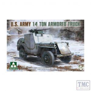 PKTAK02131 Takom 1:35 Scale U.S. Army ¼ton Armoured Truck