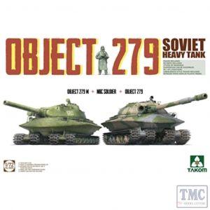 PKTAK05005 Takom 1:72 Scale Object 279 + Object 279M + NBC Soldier