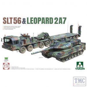 PKTAK05011 Takom 1:72 Scale Faun SLT-56 Franziska & Leopard 2A7