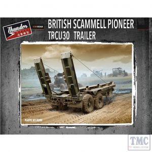 PKTHU35205 Thunder 1:35 Scale British 30ton Trailer TRCU30