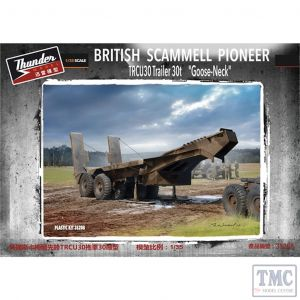 PKTHU35208 Thunder 1:35 Scale Scammell Pioneer TRCU30 Goose Neck Trailer 30t