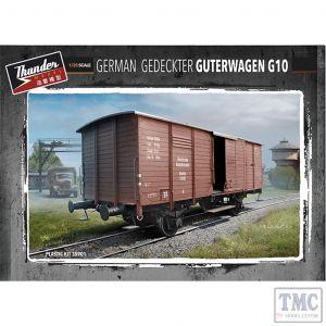PKTHU35901 Thunder 1:35 Scale German Gedeckter Güterwagen G10