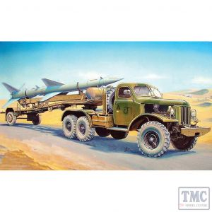 PKTM00204 Trumpeter 1:35 Scale SA-2 Guideline on Truck & Trailer