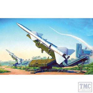 PKTM00206 Trumpeter 1:35 Scale SA-2 Guideline Missile & Launcher