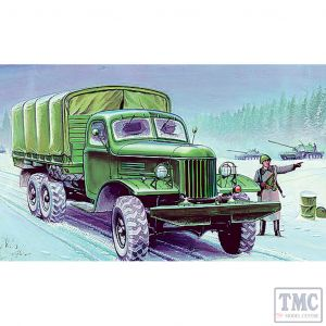 PKTM01003 Trumpeter 1:35 Scale Zil-157K Soviet Army Truck