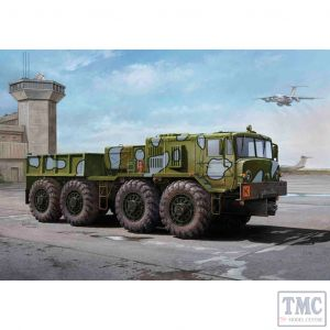 PKTM01005 Trumpeter 1:35 Scale MAZ-KZKT-537L Cargo Truck