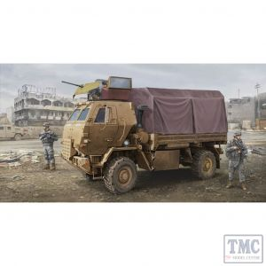 PKTM01009 Trumpeter 1:35 Scale M1078 LMTV Cargo Truck with Armoured Cab