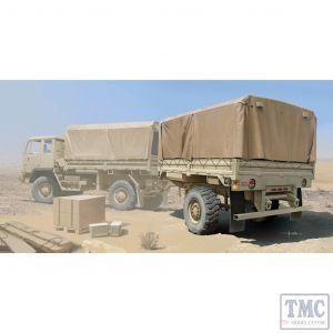 PKTM01010 Trumpeter 1:35 Scale M1082 LMTVT Light Medium Tactical Vehicle Trailer