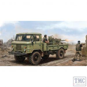 PKTM01017 Trumpeter 1:35 Scale GAZ-66 4x4 Light Truck II