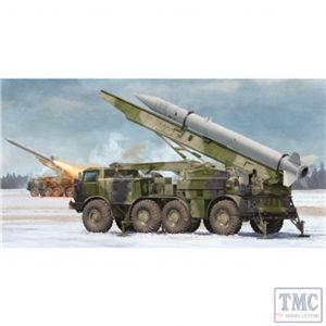 PKTM01025 Trumpeter 1:35 Scale Russian 9P113 TEL w/9M21 Rocket of 9K52 Luna-M Short-range A