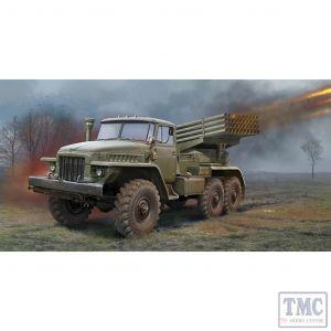 PKTM01028 Trumpeter 1:35 Scale Russian BM-21 Grad Multiple Rocket Launcher