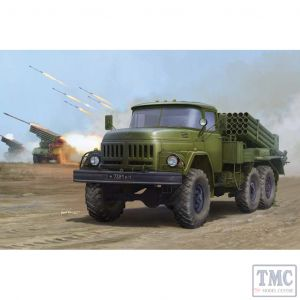 PKTM01032 Trumpeter 1:35 Scale Russian 9P138 GRAD-1 on ZiL-131