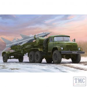 PKTM01033 Trumpeter 1:35 Scale Russian Zil-131V towing PR-11 SA-2 Guideline