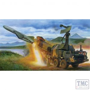 PKTM01035 Trumpeter 1:35 Scale Russian 4K51 Rubezh Coastal ASM with P-15