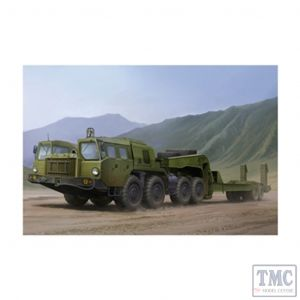 PKTM01056 Trumpeter 1:35 Scale MAZ7410 Tractor w /CHMZAP-5247G
