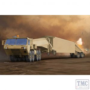 PKTM01059 Trumpeter 1:35 Scale M983 Tractor w/ AN/TPY-2 X Band Radar