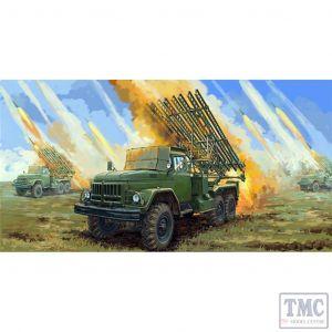 PKTM01062 Trumpeter 1:35 Scale Soviet 2B7R Multiple Rocket Launcher BM-13 NMM