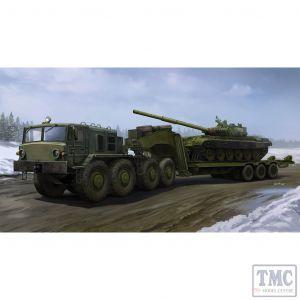 PKTM01065 Trumpeter 1:35 Scale MAZ-537G Late w/ ChMZAP-9990 Semi-trailer