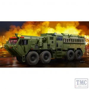 PKTM01067 Trumpeter 1:35 Scale M1142 HEMTT Tactical Fire Fighting Truck (TFFT)