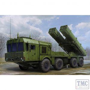 PKTM01068 Trumpeter 1:35 Scale Russian 9A53 Uragan-1M MLRS (Tornado-S)