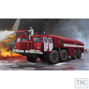 PKTM01074 Trumpeter 1:35 Scale Airport Fire Fighting Vehicle AA-60 (MAZ-7310) 160.01