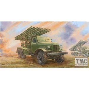 PKTM01075 Trumpeter 1:35 Scale Soviet 2B7R Multiple Rocket Launcher BM-13 NM