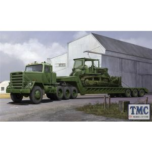 PKTM01078 Trumpeter 1:35 Scale M920 Tractor towing M870A1 Semi-trailer