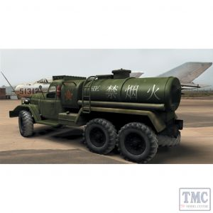 PKTM01104 Trumpeter 1:72 Scale Jiefang CA-30 Chinese Fuel Truck